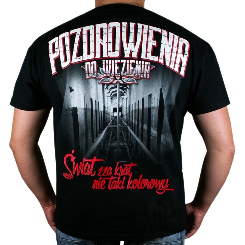 Koszulka Public Enemy PDW Pozdrowienia do więzienia