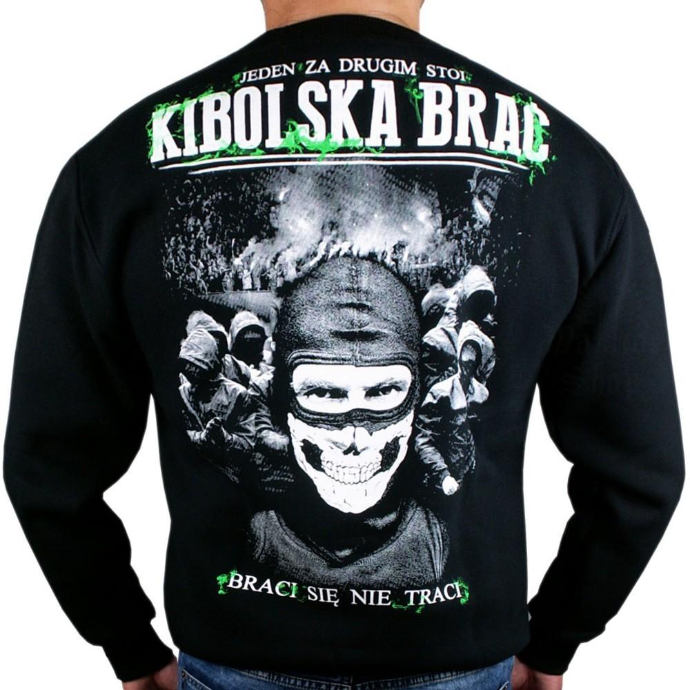 Sweatshirt Hoodie Bluza Polska BSNT Braci Sie Nie Traci Hooligans Black